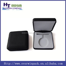2015 factory directly fashion leathe gift packing box,medal display box
