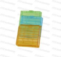Fyte transparent plastic battery case storage 4 * 14500 battery box 4 * AA battery case