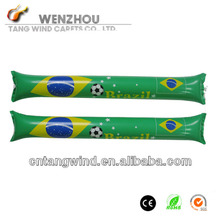 World Cup Brazil 2014 led inflatable thunder stick