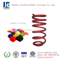 red flat gloss powder coatings paint used for spring coil