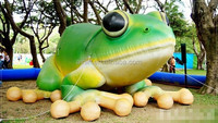 park decor tree frog inflatable mascot
