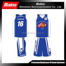 Custom new womens basketball uniform design