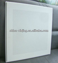 Micro perforated metal ceiling panel/lay in ceiling panel
