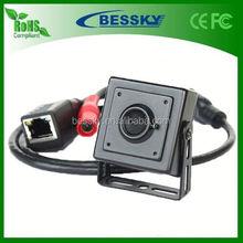 2.0MP 1080P invisible IP Camera p2p onvif Indoor 3.7mm lens ip pinhole camera onvif ip camera speaker microphone