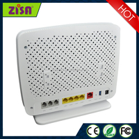 AD/VDSL Bonding VOIP WIFI IAD Router 4Lan+2Fxs+1FXO wireless modem