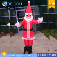 Hot Sale 6ft Mini Inflatable Santa Claus Air Dancers
