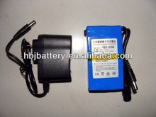 6800mah 12v lithium battery UPS for solar systems Time Attendance and Access Control