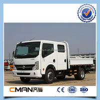 mini type double cabin dongfeng 7 ton truck in the africa and asia market