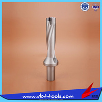 KSS-C32-D34-4D ---- CNC Indexable High Speed 4D Helix Groove U Drills
