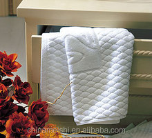 toiletries cotton terry loop towel set for hotel and home use,Made in P.R.C