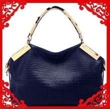 2015 ladies snake print genuine leather famous brand handbag fashion / new style fashion handbag