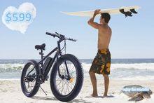 Fat bike, electric wheel hub motor bike battery pack
