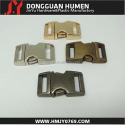Dgjinyu paracord bracelet buckle,curved metal clasp, (16mm) 5/8 metal side release buckle wholesale