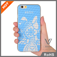 Jules.V Creative Design 3D Flip Pattern Mobile Phone Silicon Case For iPhone 6