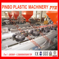 Waste PET bottle recycling machine and recycling line