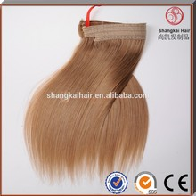 8-30 inch 100% Brazilian human hair flip in hair extension
