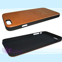 wood/bamboo + PC Material and for iPhone 6, wholesale wooden phone case