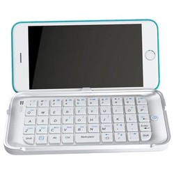 Newest Pattern Bluetooth Keyboard Protective Leather Case for iPhone 6 Plus
