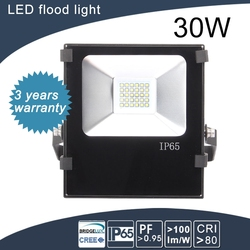higher quality 30w led flood light ip65 level with good lighting chip 3 years warranty
