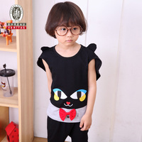2013 kids clothes handsome cat cosplay baby and kids clothing