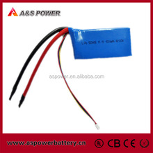 553496 3S1P 12V rc car lipo battery 1500mAh with 45C discharge current