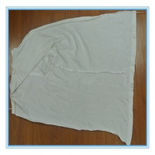 White cotton wiping rags (used) with high quality