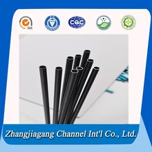 black anodized aluminum tubing alloy 6060 tubo de aluminio