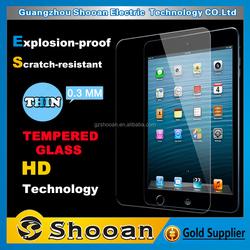 alibaba china suppliers!!anti explosive alloy glass screen protector for ipad mini