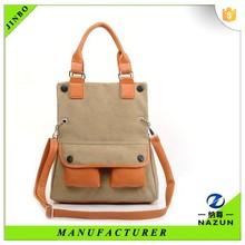 Alibaba magic transformation handbag pu foldable handbag for lady