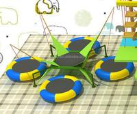 Children 4 in 1 bungee trampoline