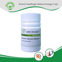 Fabricação de alta qualidade uso pó liofilizado soro albumina
