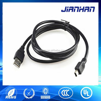 free sample MP3 MP4 player charging white mini usb male cable 2.0