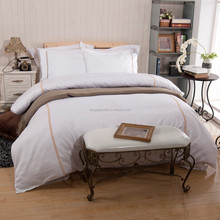 Luxury 600 thread count embroidery design duvet cover set, bedding set, bed sheet