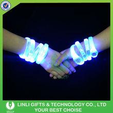 Cheap Promotion Flashing LED Bracelet With OEM Logo, Colorful Light Party Up Flashing LED Bracelet For Business Promotion