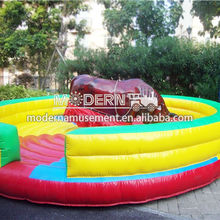 HOT HOT Amusement inflatable mechanical bull for sale