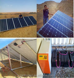 250w solar panel,10kw solar power system for home 3kw Solar Power Supply System for Home Use