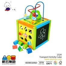 5in1 Transport Activity Cube 2015 new toys