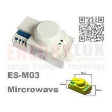 ES-M03 360 degree Microwave radar motion sensor motion sensor high sensitivity long distance