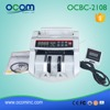 BC2108: supermarket cash counter and banknote counter with UV/MG