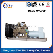 400kw 500kva diesel generator set with different brand engine and alternator water cooling