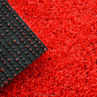 Chinese popular red PE gateball/golf artificial turf