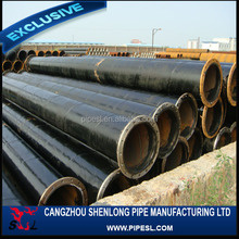 Line pipe for petroleum and natural gas transmission API 5L X52 sch80 welded carbon steel pipe