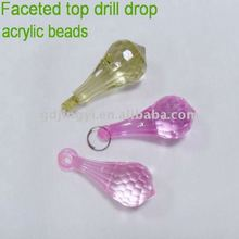 varied plastic acrylic crystal beads loose beads lucite beads