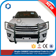 High Quality S/S Grille Guard Accessories for Toyota Hilux Vigo 2015 New Revo