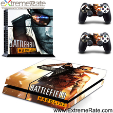 Battlefield hardline design skin sticker for ps4 protective new skin
