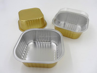 food packing aluminum foil contianer /takeway food container