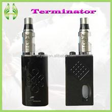 Newest boox mod 18650 Full Mechanical Mod Starter Kit With Terminator Mod DIY Tools White Black Terminator Box mechanical Mod