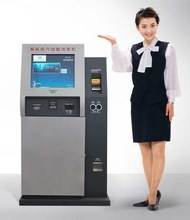 All-In-One touch screen kiosk for payment using /Touch screen Bank bill coin Payment Kiosk Self Payment Terminal