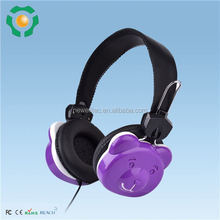 Colorful Promotion Anime Headphone With Cute Catoon Pattern