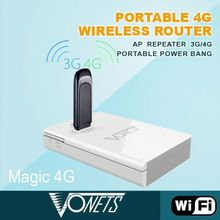 Portable 300Mbps mini 3g gsm wifi router with power bank, 3G/4G router funtion